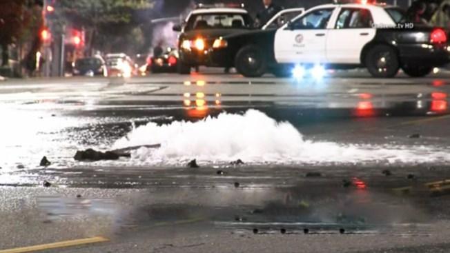 Fuga de agua afecta a residentes