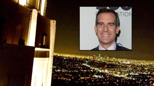 Eric Garcetti presume apps de L.A.