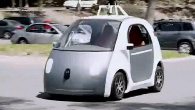 Conoce el auto de Google que va solo