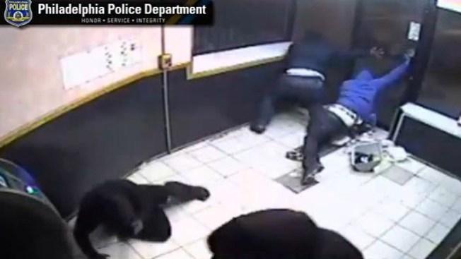 Dramático tiroteo dentro de una tienda