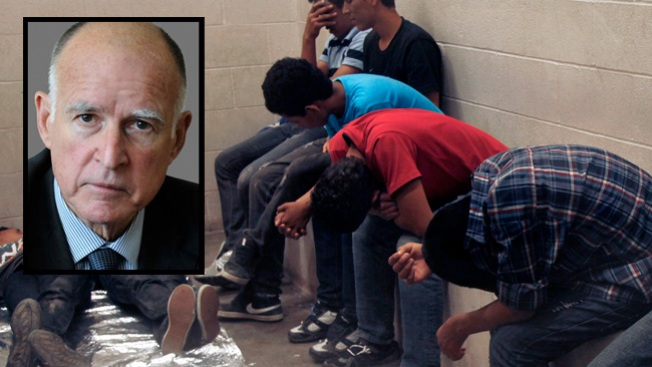 Jerry Brown habla sobre inmigrantes