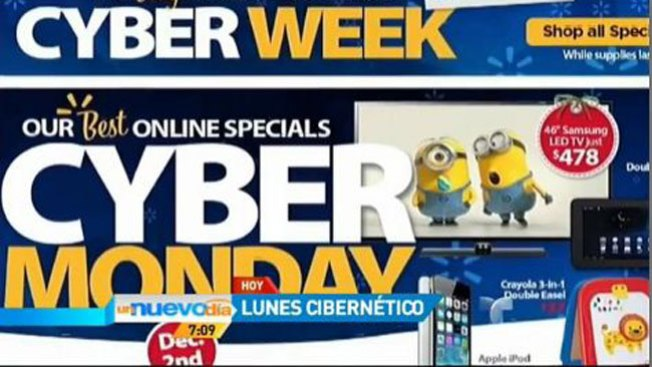 Locura de compras en lunes cibernético