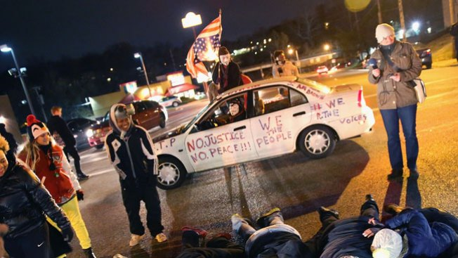 No cargos contra agente en Ferguson