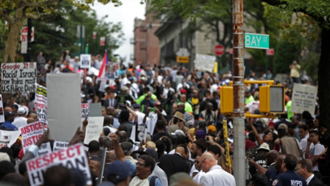 NY: Marcha contra brutalidad policial