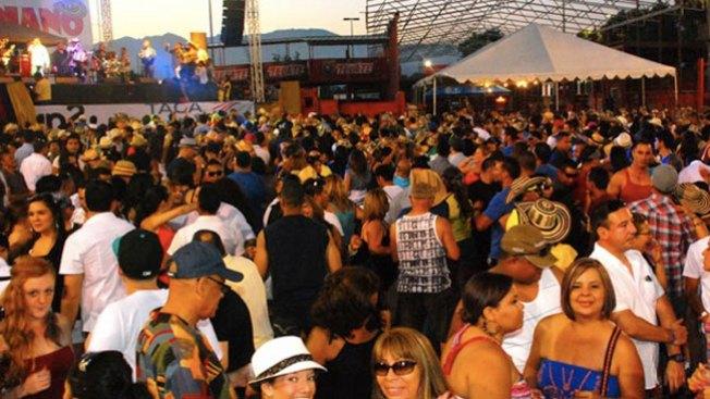 Colombia de fiesta en Los Ángeles