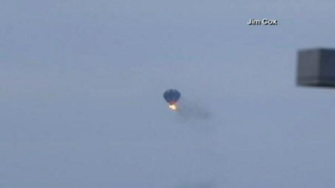 2 muertos tras chocar globo aerostático