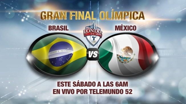 ¿Cómo ver México vs Brasil?