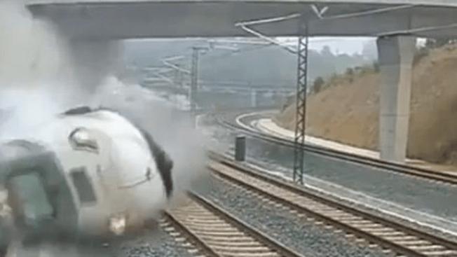 Tren quizá iba al doble de velocidad