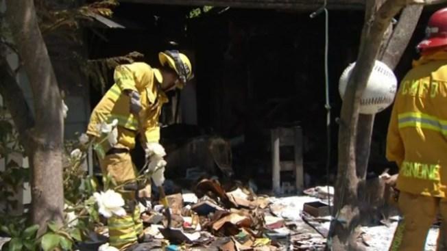 Incendio y muerte en Costa Mesa