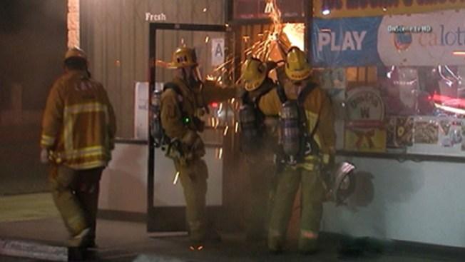 Incendio causa terror en comunidad