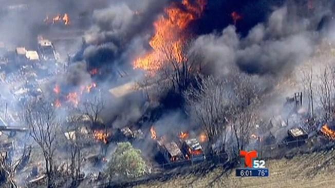 Caos y terror por devastadores incendios