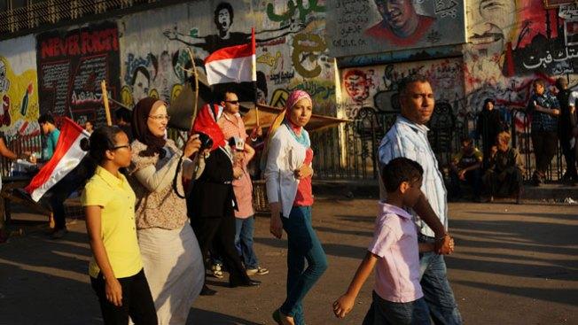 Video capta muerte de mujer en Egipto