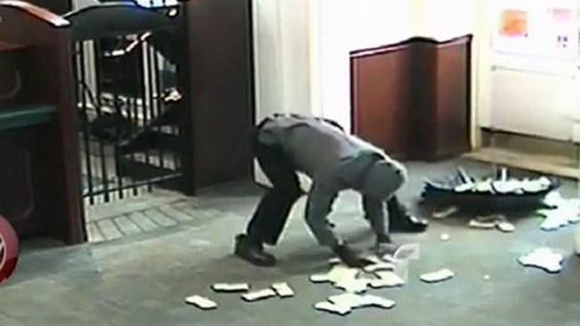 Video: Ladrón no se sale con la suya