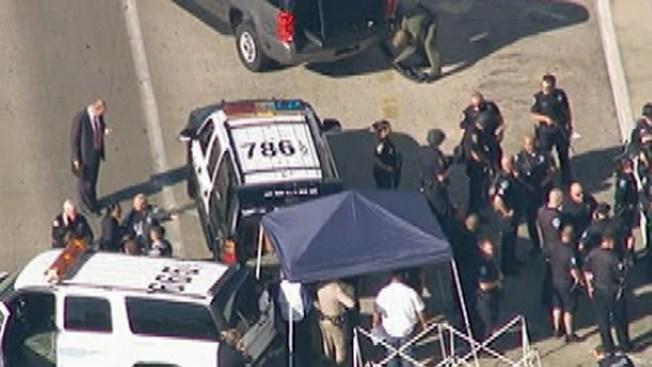 Alerta máxima en LAX por balacera
