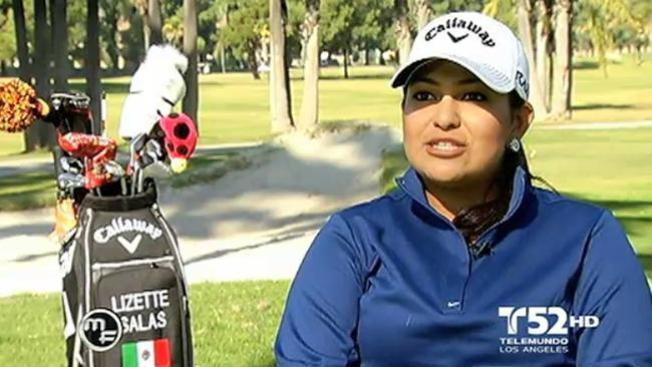 Joven mexicana nueva joya del golf