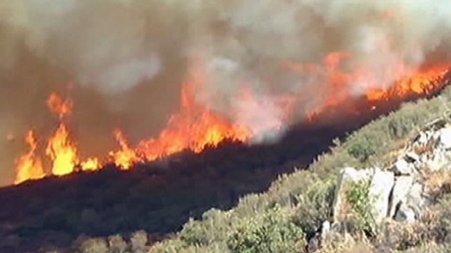 "Incendios de ""alto riesgo"" en México"