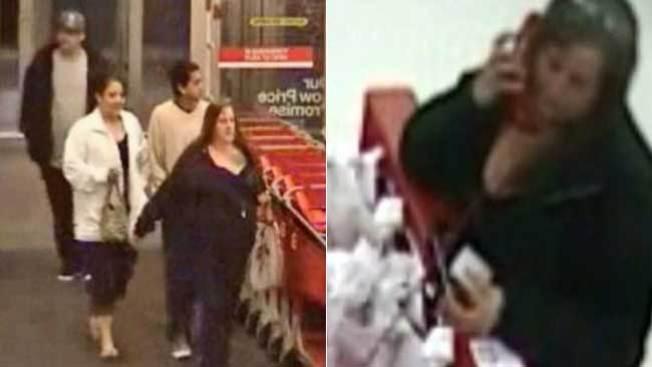 Ladrones se lanzan contra tienda Target