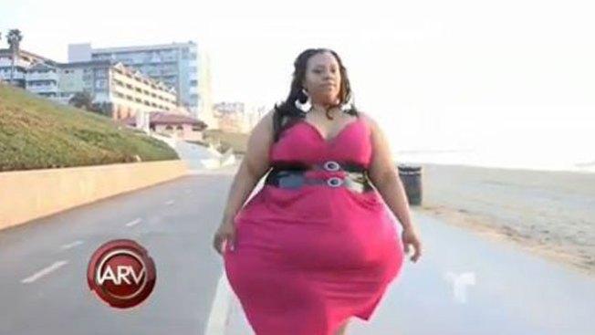 La mujer más caderosa del mundo