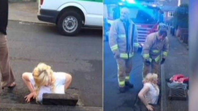Mujer casi muere por salvar su celular
