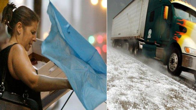 Lluvia, nieve y caos de tránsito