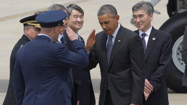Obama llega a Malasia en su gira asiática