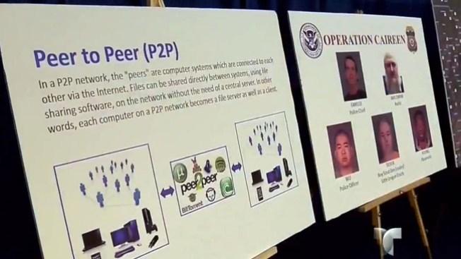 Arrestan policías con pornografía infantil