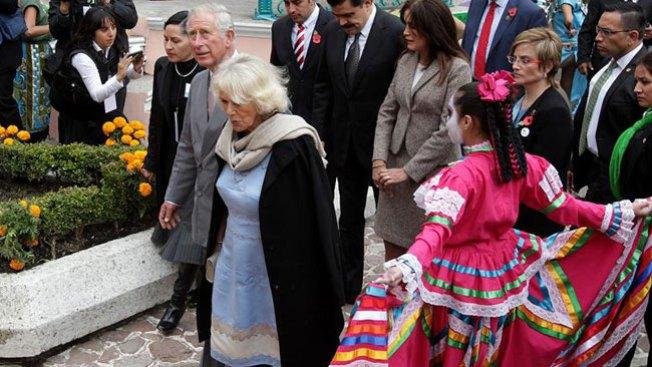 Carlos y Camila de visita por México