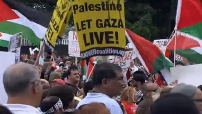 Miles piden el fin de la guerra en Gaza