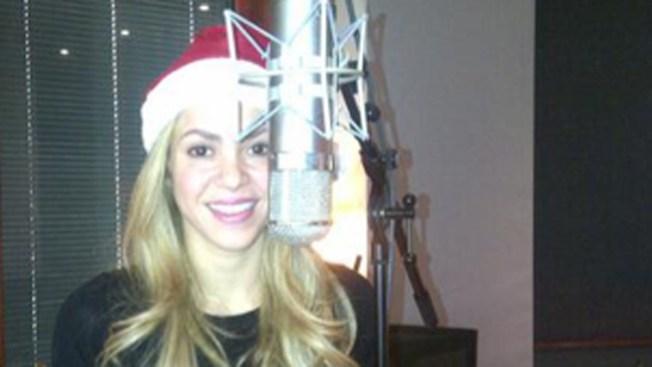 Shakira ya está lista para la Navidad