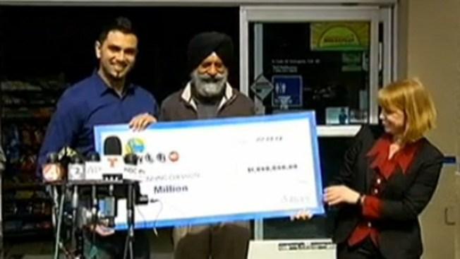 Vendedor de boleto recibe $1 millón