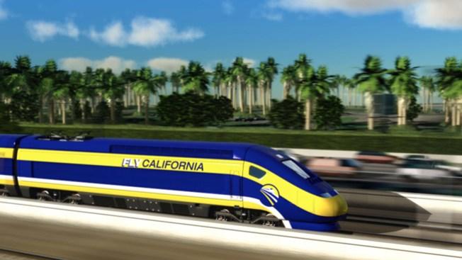 Le dan velocidad al tren Bala
