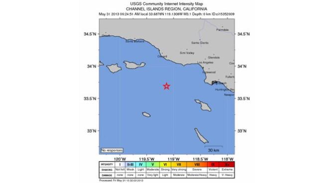 Otro temblor sacude el sur de California