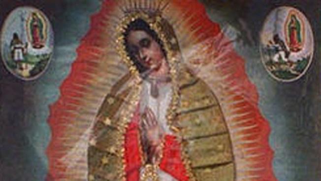 La Virgen está de gira