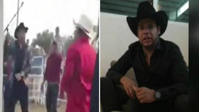 Video capta agresión de Marco Flores