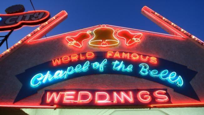 ¿Boda en Las Vegas?