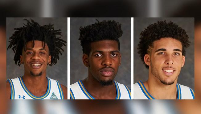 Jugadores de UCLA detenidos en China regresan a casa
