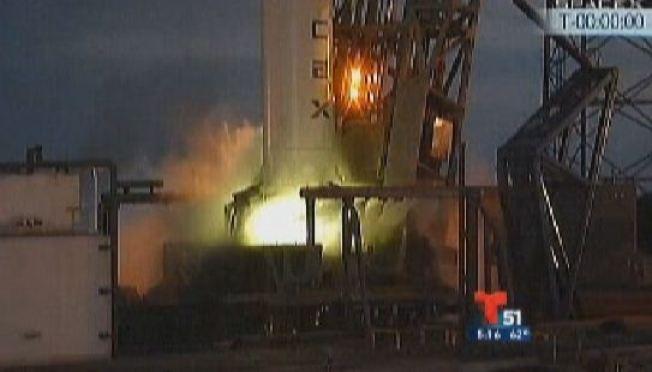 Suspenden lanzamiento de satélite