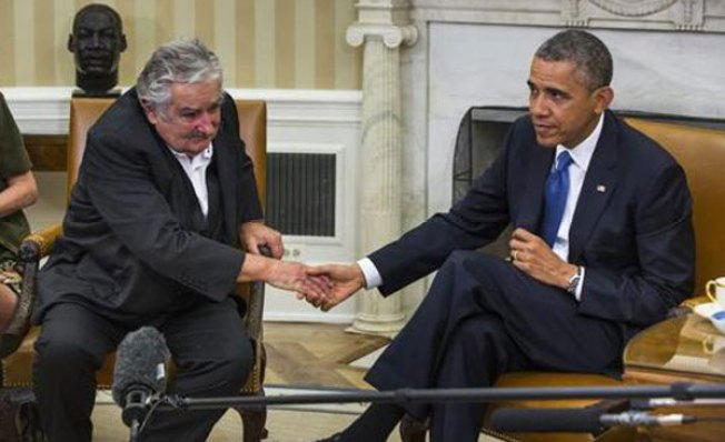 Obama no habla de drogas con Mujica