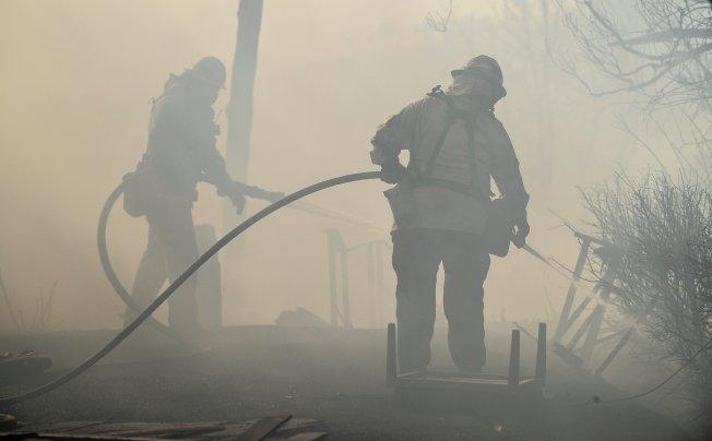 Advertencia por la calidad del aire debido a incendios