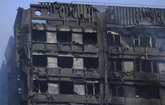 Son 17 los muertos por el incendio en Londres