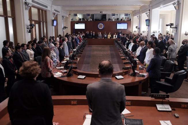 Doce países denuncian en OEA intransigencia de Daniel Ortega