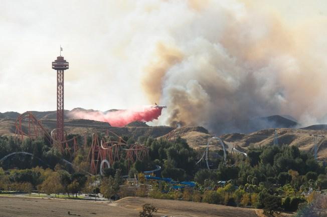 Incendio en Santa Clarita está 96 por ciento contenido