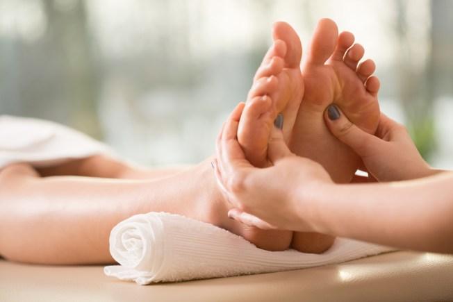 ¿Masaje en los pies para llegar al orgasmo?