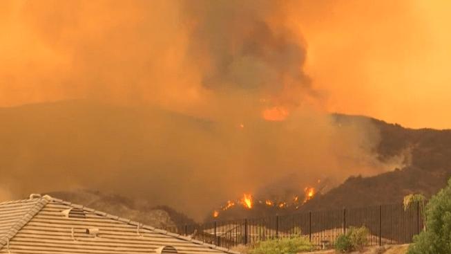 Ceniza del Incendio Holy podría ser tóxica