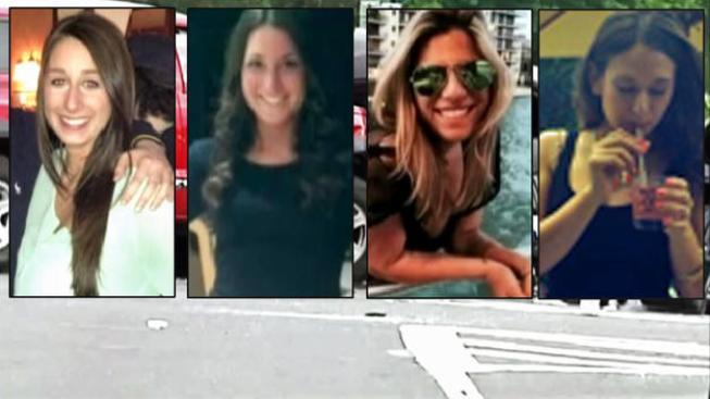 Cuatro amigas mueren en choque de limusina