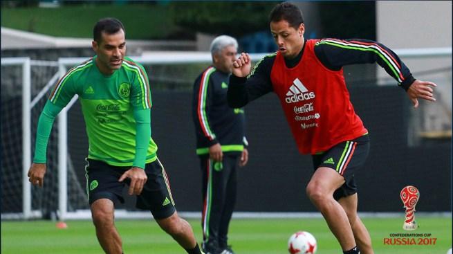México da lista para Copa Confederaciones