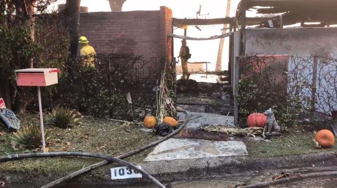 Centro de asistencia para afectados por Incendio Getty