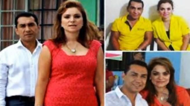 Alcalde de Iguala y esposa tras las rejas