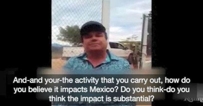 """[TLMD - LV] """"El Chapo"""" explica su rol y cómo funciona el negocio de las drogas"""