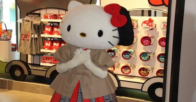 """""""Hello Kitty"""" llega a Hollywood y cuenta con su propia tienda"""